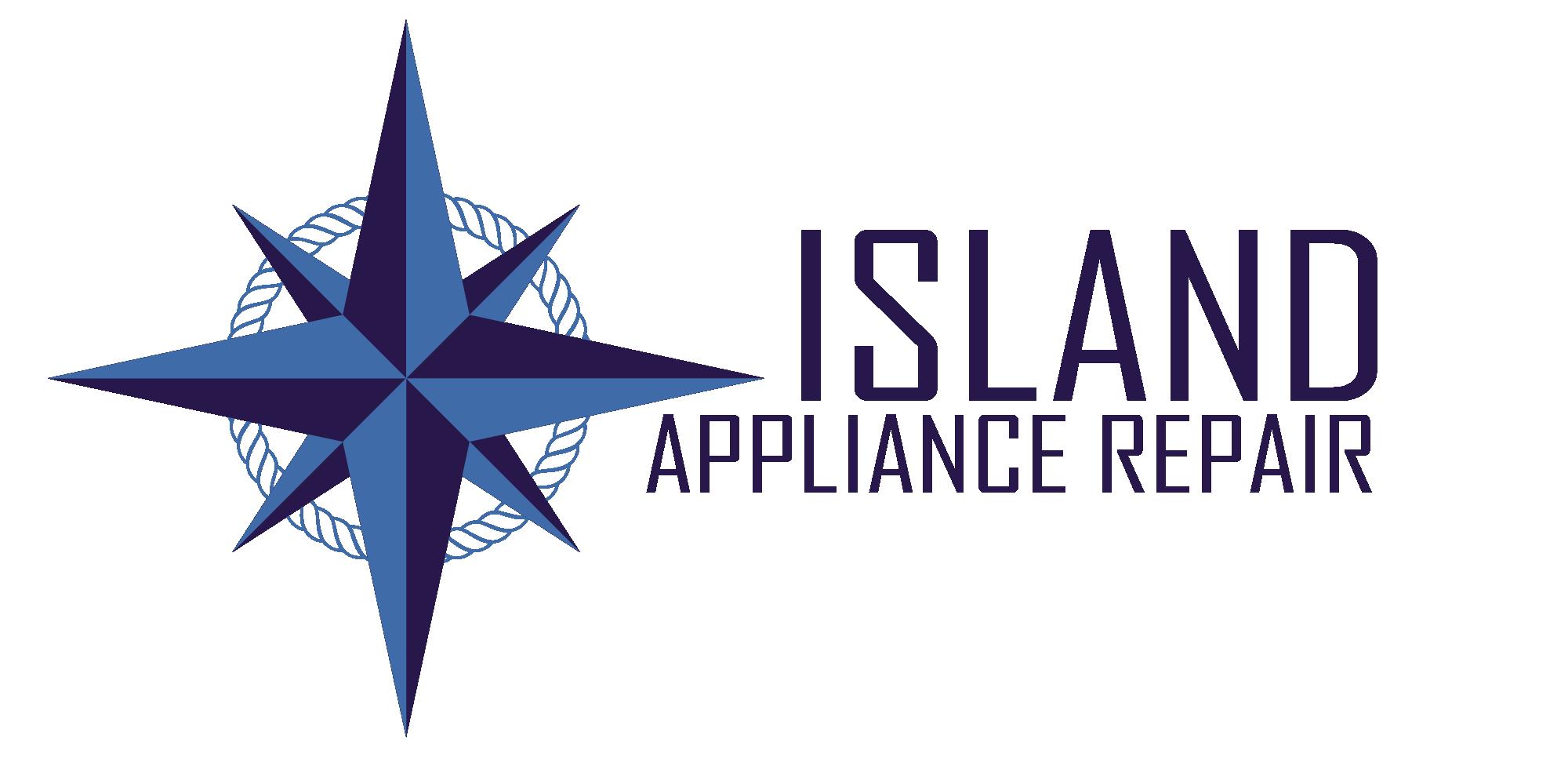 Island Appliance Repair Logo Star
